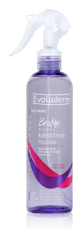 Evoluderm Keratin spray regenerator cu keratina