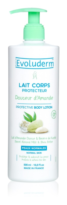 Evoluderm Doucer d Amande telové mlieko s mandlami a bambuckým maslom