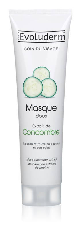 Evoluderm Face Care Facial Mask With Extracts Of Cucumber