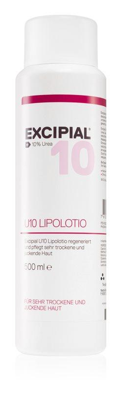 Excipial M U10 Lipolotion leche corporal nutritiva para pieles secas e irritadas
