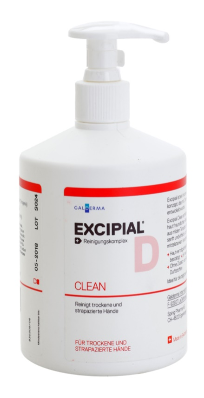 Excipial D Clean sapun delicat de maini