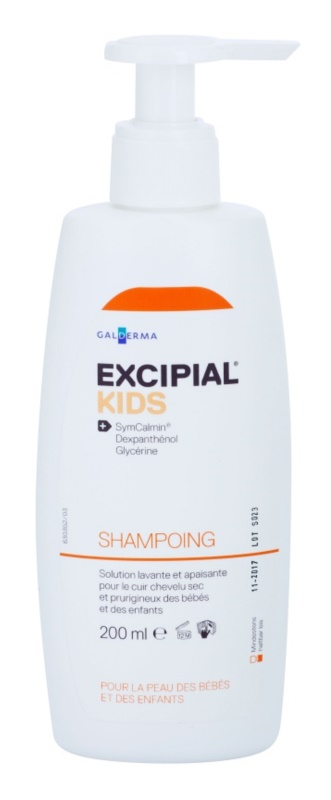 Excipial Kids champô para crianças para couro cabeludo seco e com prurido