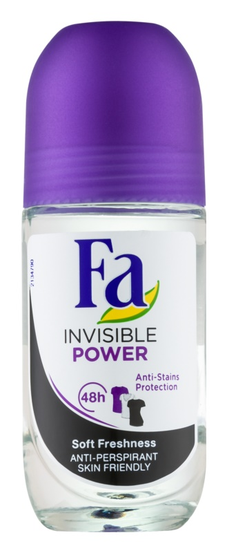 Fa Invisible Power Roll-On Antiperspirant