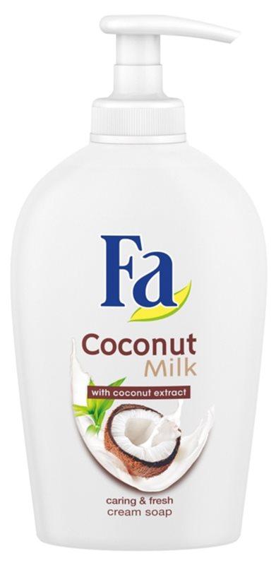 Fa Coconut Milk krémové mýdlo s pumpičkou