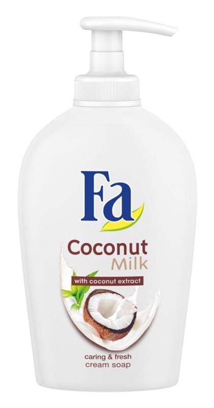 Fa Coconut Milk sabonete cremoso  com doseador