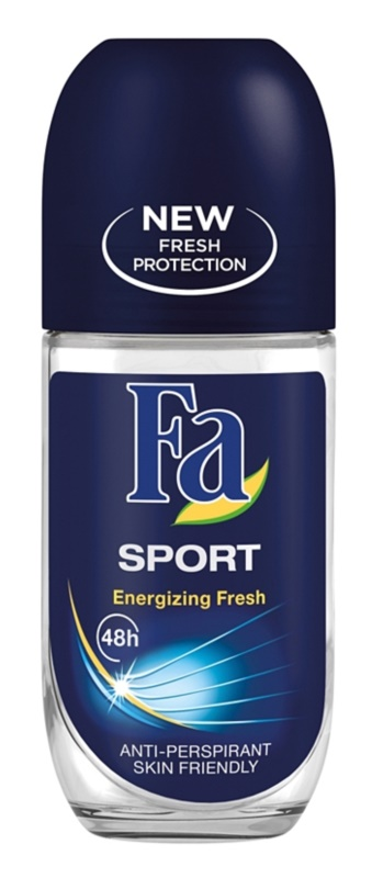 Fa Sport Energizing Fresh roll-on antibacteriano