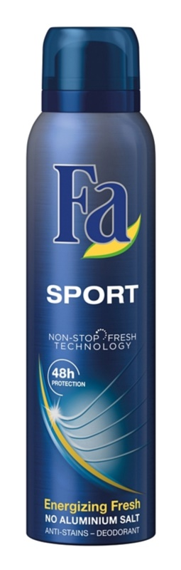 Fa Sport Energizing Fresh antitranspirante en spray