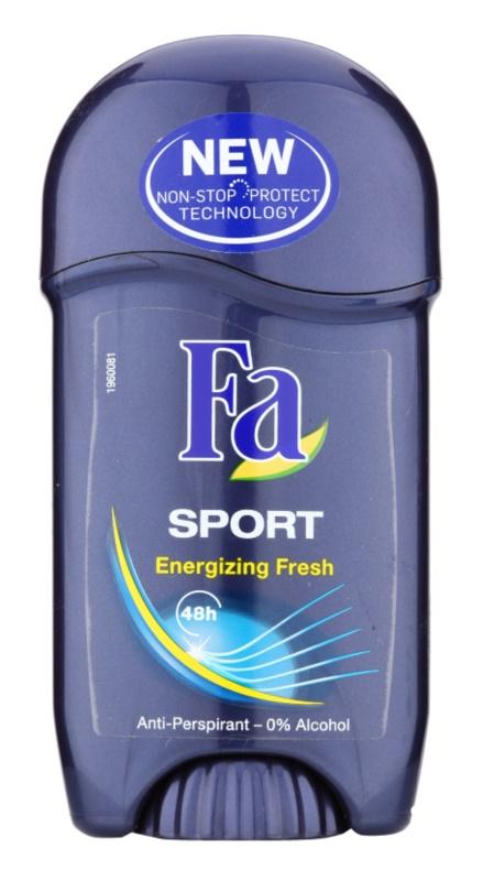 Fa Sport Energizing Fresh antitranspirante en barra
