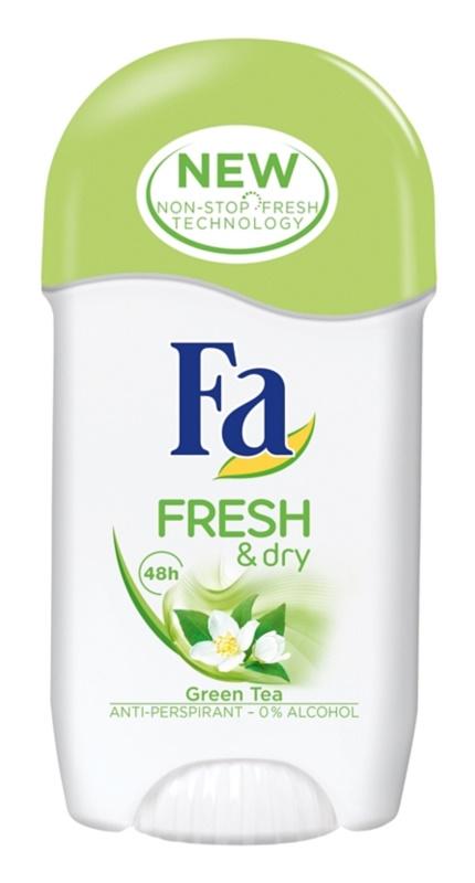 Fa Fresh & Dry Green Tea antitranspirante en barra
