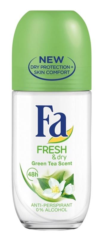 Fa Fresh & Dry Green Tea antiperspirant roll-on