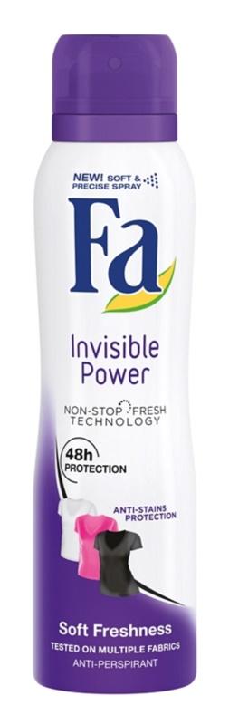 Fa Invisible Power antiperspirant spray -ben