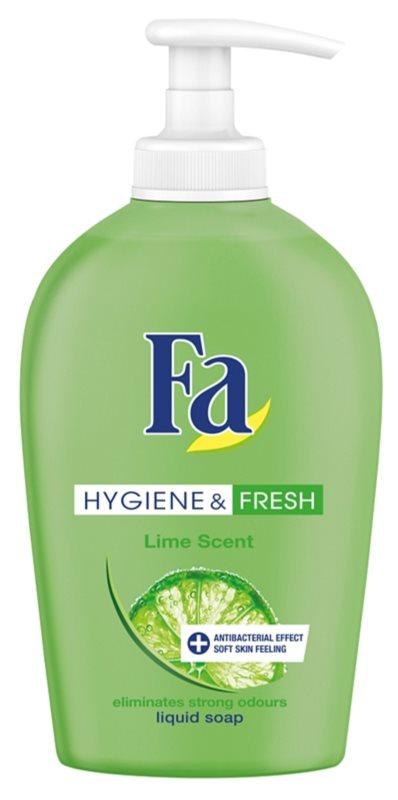 Fa Hygiene & Fresh Lime sapun lichid cu pompa