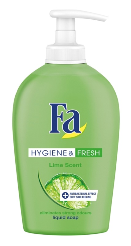 Fa Hygiene & Fresh Lime tekuté mýdlo s pumpičkou