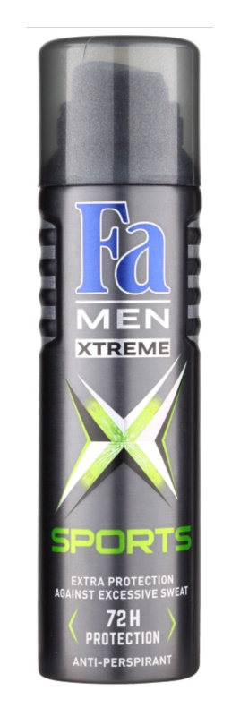 Fa Men Xtreme Sports antiperspirant spray -ben