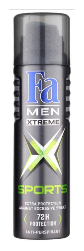 Fa Men Xtreme Sports antitranspirantes em spray