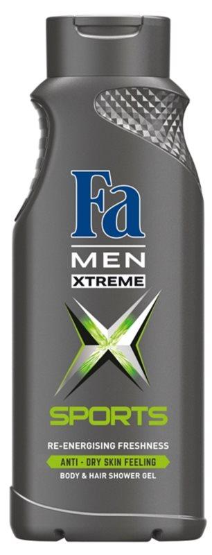 Fa Men Xtreme Sports gel de ducha para cuerpo y cabello