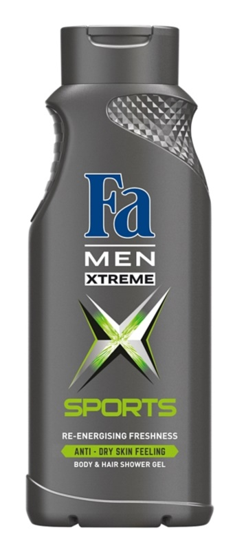 Fa Men Xtreme Sports gel de duche para corpo e cabelo