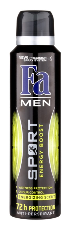 Fa Men Sport Energy Boost Antiperspirant In Spray
