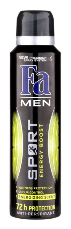 Fa Men Sport Energy Boost antiperspirant spray -ben
