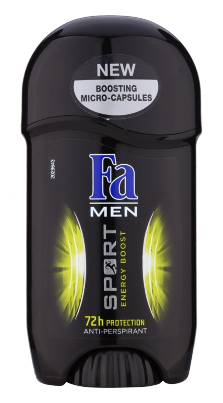 Fa Men Sport Energy Boost Tough Antiperspitant