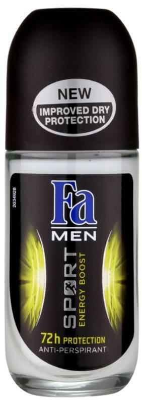 Fa Men Sport Energy Boost deodorant roll-on antiperspirant