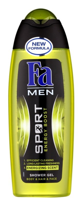 Fa Men Sport Energy Boost Shower Gel for Face, Body and Hair