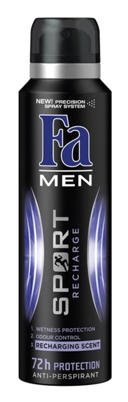Fa Men Sport Recharge antiperspirant spray -ben