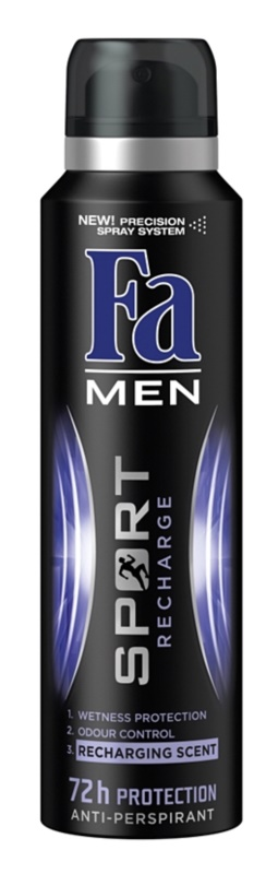Fa Men Sport Recharge antiperspirant ve spreji
