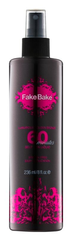 Fake Bake 60 minutes Express Self - Tanning Emulsion