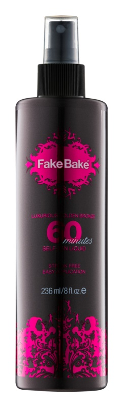 Fake Bake 60 minutes Express Zelfbruinings Emulsie