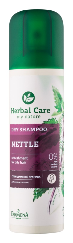 Farmona Herbal Care Nettle suchý šampon pro mastné vlasy