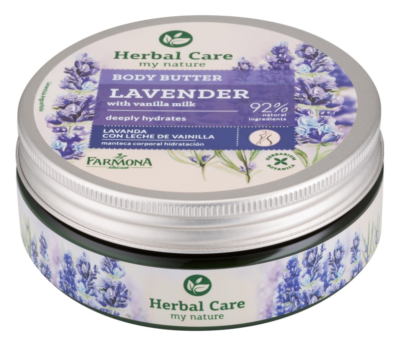 Farmona Herbal Care Lavender зволожуюче масло для тіла глибокої дії