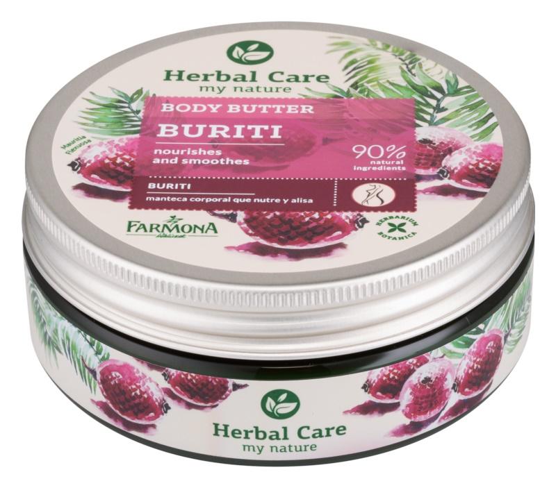 Farmona Herbal Care Buriti hranilno maslo za telo