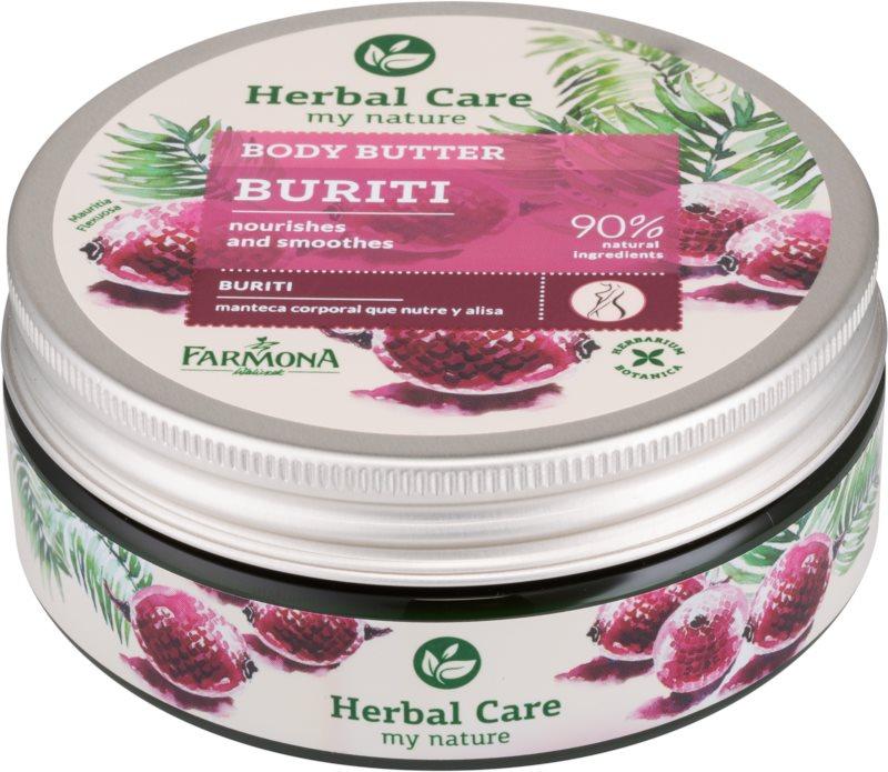 Farmona Herbal Care Buriti vyživující tělové máslo