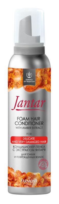 Farmona Jantar penový kondicionér pre jemné vlasy a poškodené vlasy
