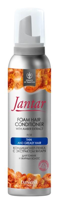 Farmona Jantar odżywka w piance do włosów delikatnych i tłustych