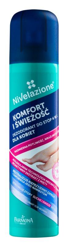 Farmona Nivelazione Feet deodorant pentru picioare 4 in 1