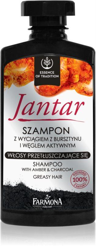 Farmona Jantar Shampoo mit Aktivkohle für fettiges Haar
