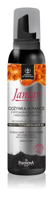 Farmona Jantar odżywka w piance do włosów przetłuszczających