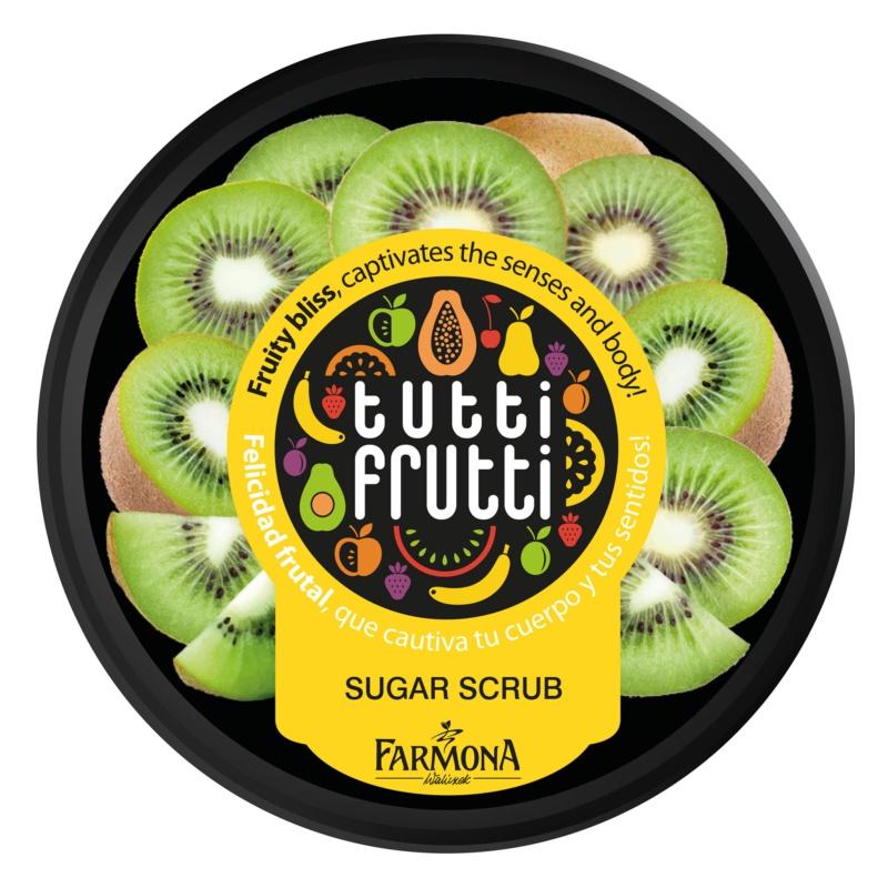 Farmona Tutti Frutti Kiwi peeling corporal com açúcar