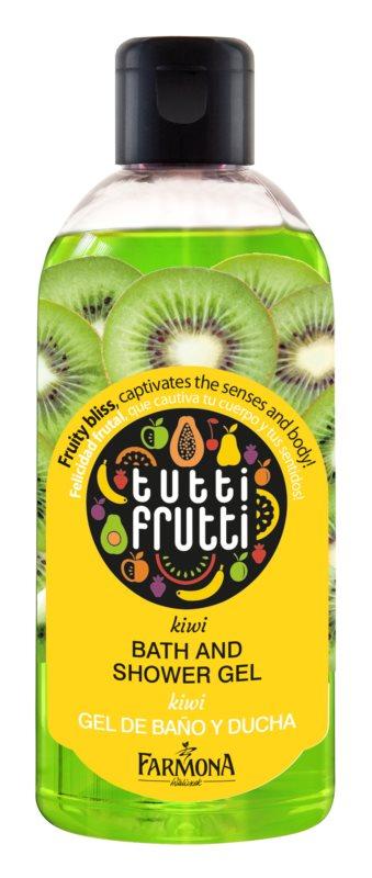 Farmona Tutti Frutti Kiwi żel do kąpieli i pod prysznic