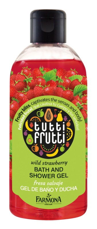 Farmona Tutti Frutti Wild Strawberry Shower And Bath Gel