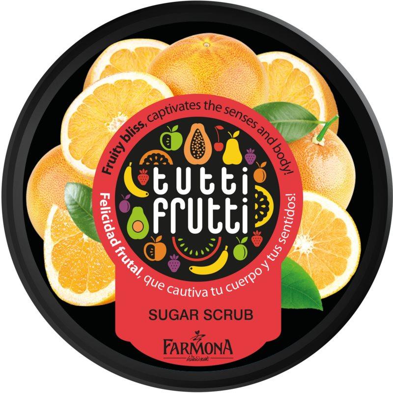 Farmona Tutti Frutti Grapefruit cukrowy  peeling do ciała
