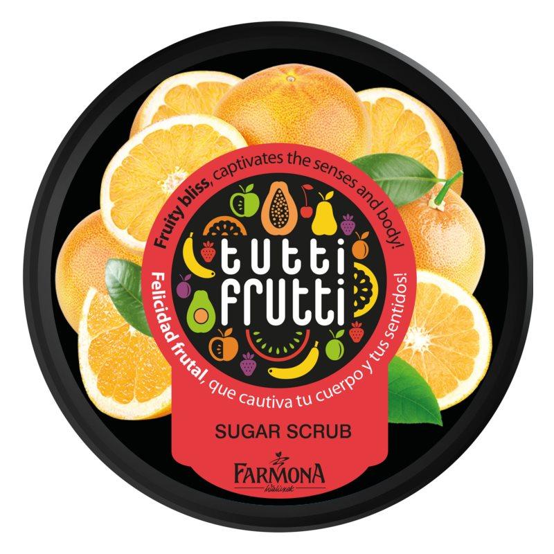 Farmona Tutti Frutti Grapefruit Hautpeeling mit Zucker