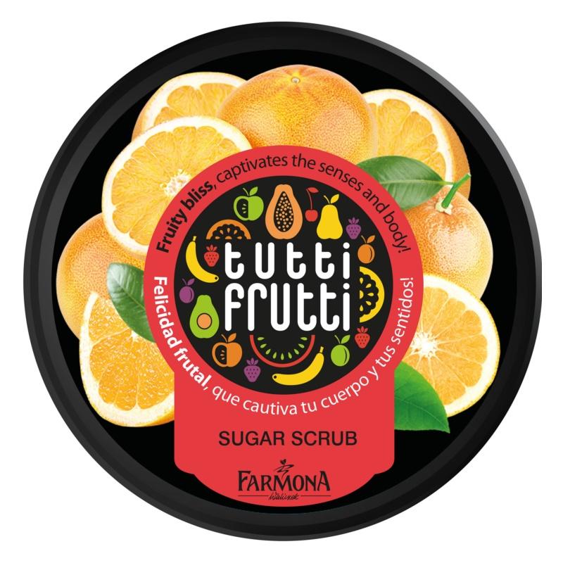Farmona Tutti Frutti Grapefruit пілінг для тіла з цукром