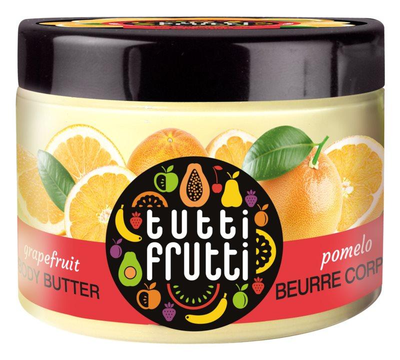 Farmona Tutti Frutti Grapefruit manteca corporal con efecto terciopelo