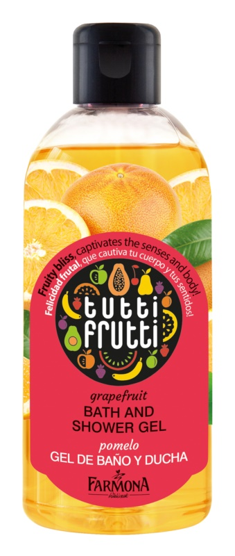 Farmona Tutti Frutti Grapefruit gel za prhanje in kopanje