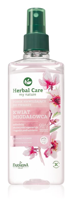 Farmona Herbal Care Almond Flower vlažilni tonik za obraz
