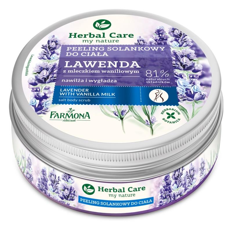 Farmona Herbal Care Lavender sare pentru exfoliere cu efect de hidratare