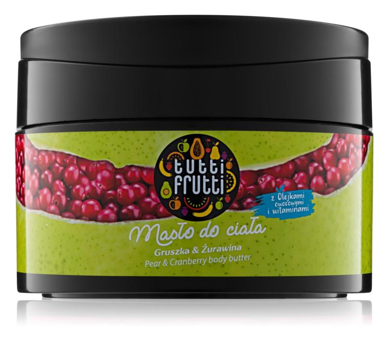 Farmona Tutti Frutti Pear & Cranberry telové maslo